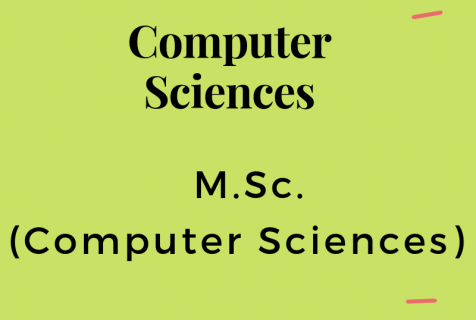 M.Sc. (Computer Science)