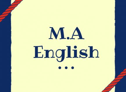 M.A (English)