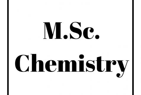 M.Sc. (Chemistry)