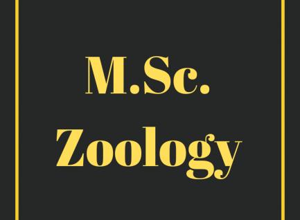 M.Sc. (Zoology)